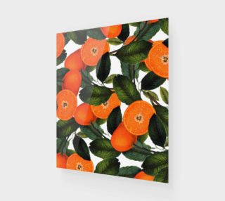 The Forbidden Orange Wood print 20x24 preview