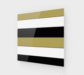 Elegant Black White Brown Gold Stripes Pattern preview