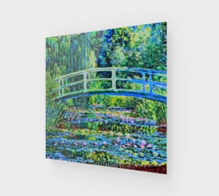 Monet - Water Lily Pond preview