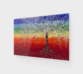 Chakra Tree - Art Print preview
