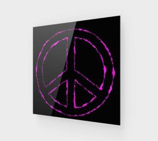 Aperçu de Pink and Black Peace