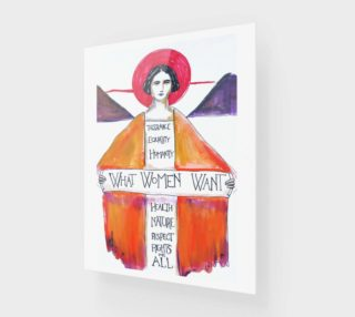 Aperçu de Women's March Poster Print