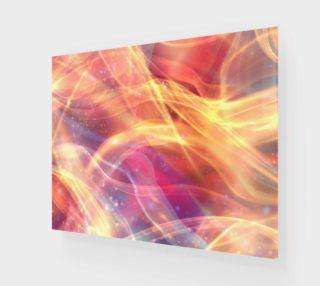 Aperçu de Orange Plasma Design