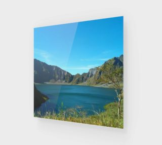 Panorama of Mount Pinatubo Crater in Zambales-Phl. preview