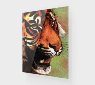 Tiger mouth preview