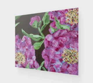 Japanese Peony Wall Art 24 x 20 preview