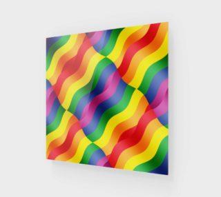 Aperçu de Gay Pride Rainbow Flag Posters and Prints