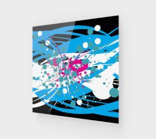 Aperçu de Unique Abstract Art Paint Splatter