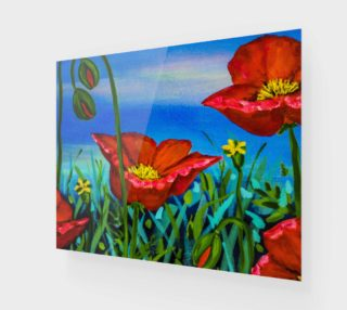 Red Poppies 20 x 16 preview