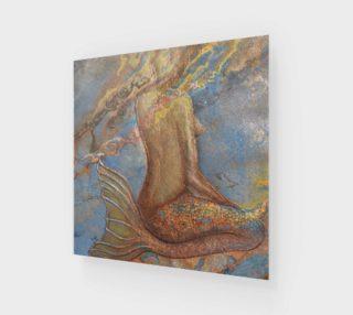 Meditating Mermaid preview
