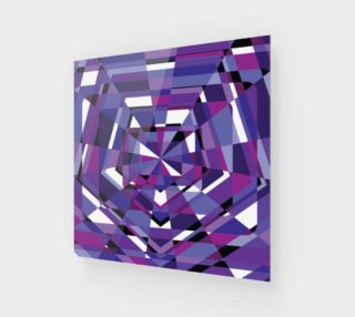 Aperçu de Purple Geometric Abstract