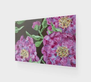 Pink Peony Wall Art preview