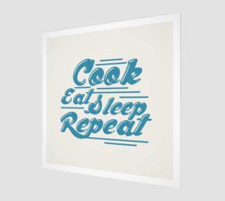 Aperçu de cook eat sleep repeat