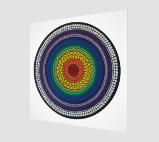 Rainbow Art Print preview