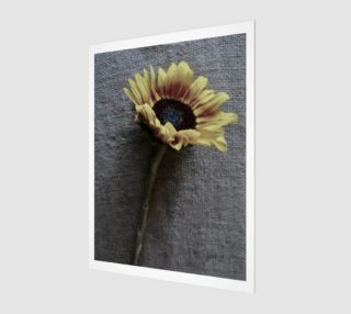 Sunflower on Jute preview
