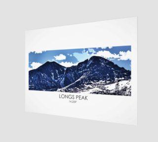 Longs Peak Art Print preview