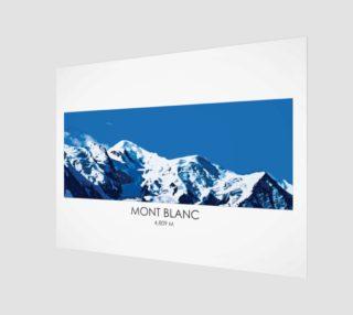 Mont Blanc Print preview