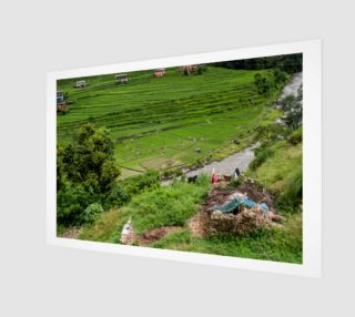 Aperçu de Nepal Rice Fields