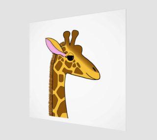 Aperçu de Georgia the Giraffe Artwork