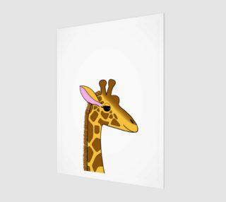 Georgia the Giraffe Artwork - 3:4 preview