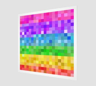 Rainbow Pixels preview