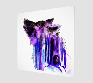 Purple wolf preview