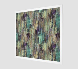 Whimsical Fun Violet Purple Taupe Teal Stripes Art preview