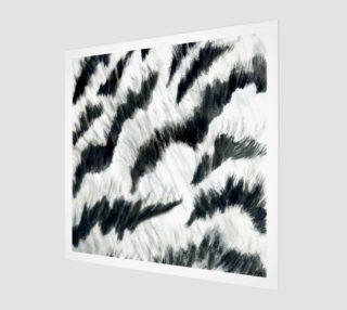 White tiger fur preview
