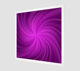 purple spiral wall art preview
