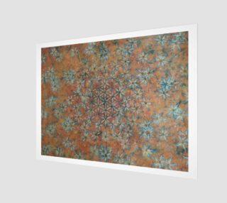 Taggart Spring - Watercolor Batik Flower of Life  preview