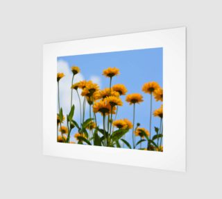 Aperçu de Summer Flowers Wall Art