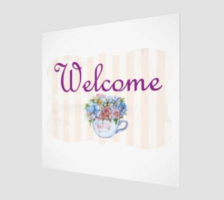 Welcome Wall Art preview