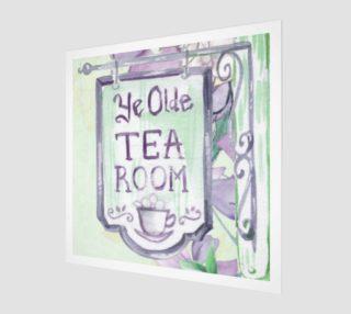 Ye Olde Tea Room Wall Art preview