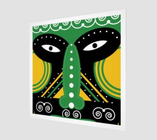 Aperçu de green ritual tribal