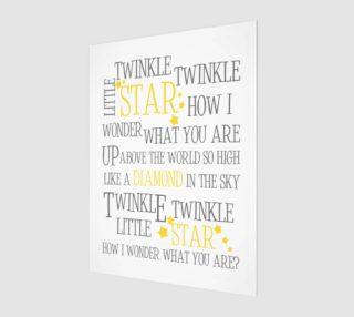 Twinkle twinkle little star preview
