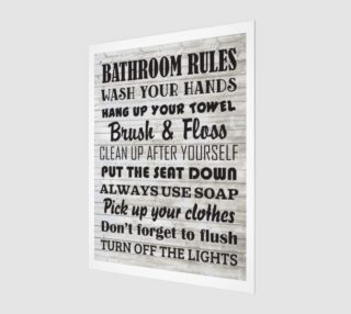 Bathroom Rules preview