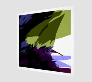 Green & Purple Floral Abstract by HOLLIDAY preview