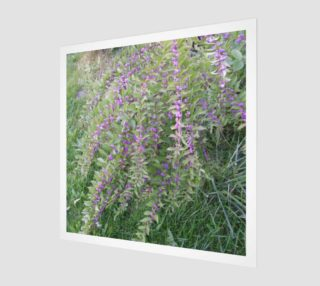 Bush with Violet Berries Wall Art preview