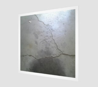 Cracked Driveway Wall Art preview