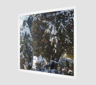 First Snow Wall Art preview
