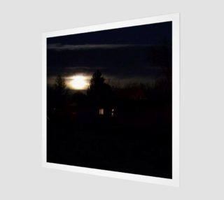 Full Moon Rise Wall Art preview