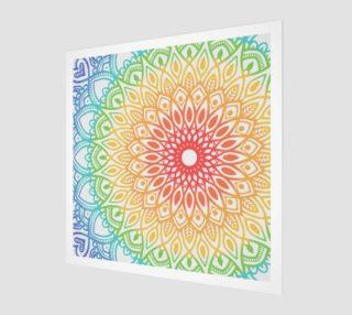 Rainbow Mandala preview