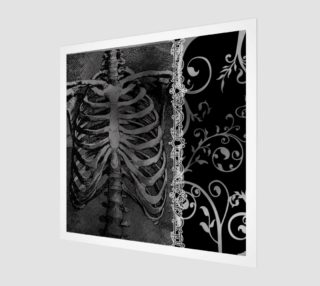 The Beauty Of Death Gothic Art Print preview