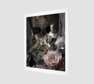 Beauty Never Lasts Gothic Art Print preview