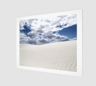 "White Sands, Blue Skies - Art Print - 20""x16"" preview"