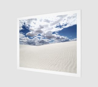 "White Sands, Blue Skies - Canvas - 24""x20"" preview"
