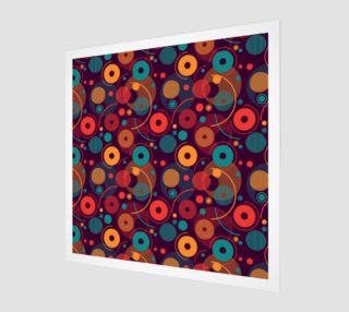 Aperçu de colorful rounded shapes