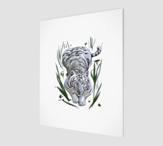 Zabu White Tiger in Grass preview