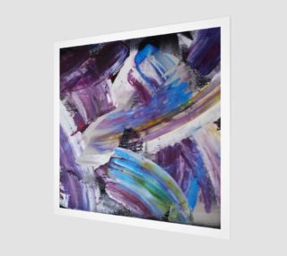 Energy Shift Abstract Painting by Janet Gervers preview