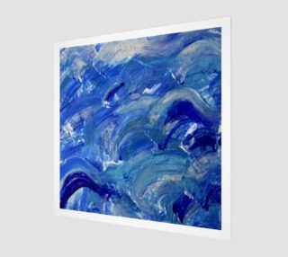 Shimmer Waves - Abstract Art by Janet Gervers 2018 preview